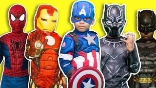 Captain America Civil War vs Justice League⎜ Avengers Blow Up Ice Cream Factory⎜ Batman ZZ Kids TV