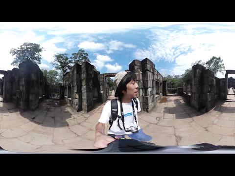 世界一周VR旅 カンボジア#2 【アンコールワット Angkor Wat】 VR Feel Travel
