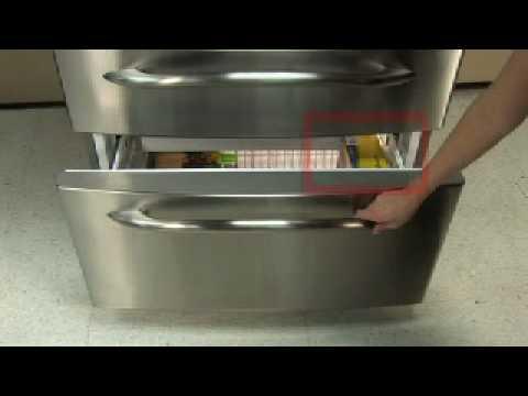 Bottom Freezer Refrigerator Moisture In Freezer Youtube