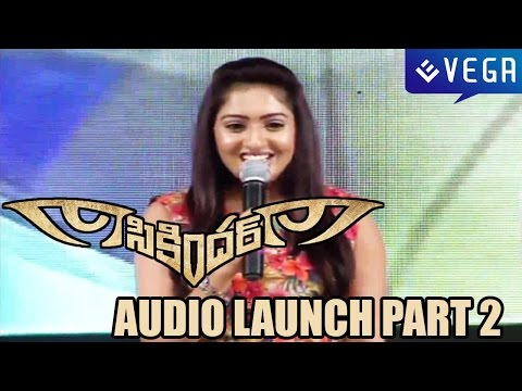 Sikindar Audio Launch - Surya,Samantha