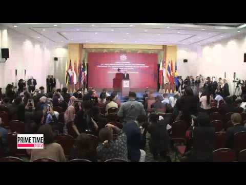 Six-party members talk at ASEAN Regional Forum