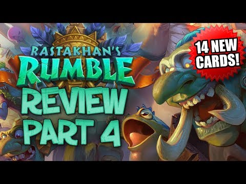 RASTAKHAN'S RUMBLE REVIEW - Part 4! | Card Review | Hearthstone