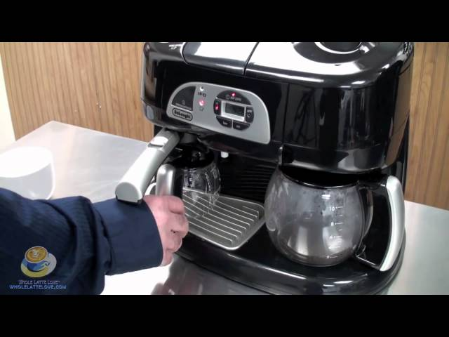 DeLonghi BCO130T Combination Machine at Whole Latte Love