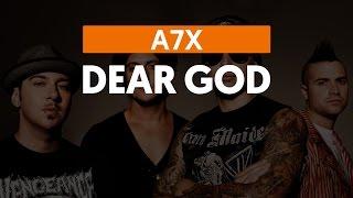 Dear God - Avenged Sevenfold (aula de violão)