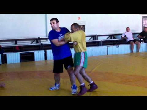 Greco-Roman wrestling. International youth sports camp Varna, Bulgaria 2012 Image 1