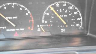 Ford Festiva Bouncing Speedo Needle