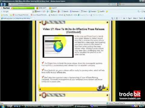 No Money System Review - Affiliate Marketing Home Study...