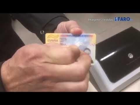 شاهد .. آخر مكاين في تزوير بطاقة الإقامة الإسبانية تم كشفها في ميناء سبتة