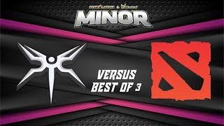 Mineski vs MYSG Game 2 | Starladder Qualifiers |  FINALS