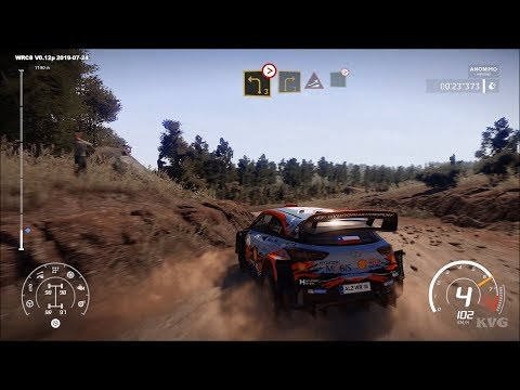 WRC 8 - Espigado Reverse - Chile Gameplay (PC HD) [1080p60FPS]