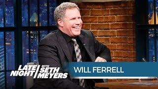 Will Ferrell Remembers Pranking Lorne Michaels with Adam McKay - Late Night with Seth Meyers