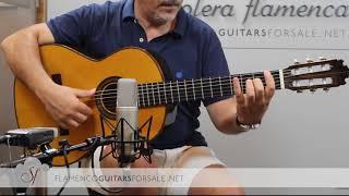 VIDEO TEST: Manuel Contreras 1982 classical guitar for sale