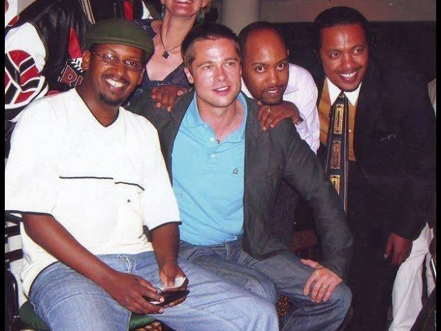 Hollywood Celebrities in Ethiopia