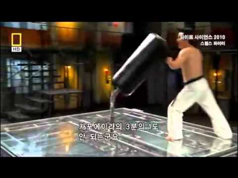 The power kicks in Taekwondo
