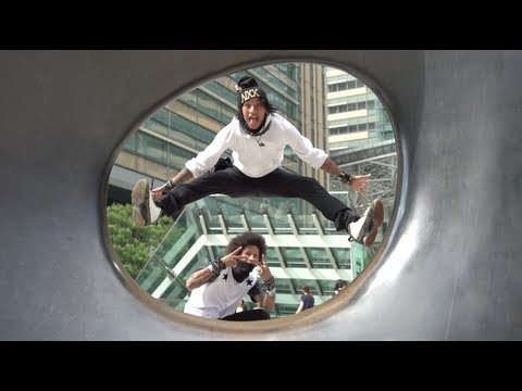 Super Slow Motion Bad Queens Les Twins Lil Buck Grichka Bboy | YAK FILMS x SONY JAPAN