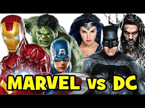 Avengers vs The Justice League - Chris Evans & Robert Downey Jr