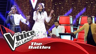 The Battles : Ridmavi  V Sachinthya  | Yaaluwe Sithin Hadannepa | The Voice Sri Lanka