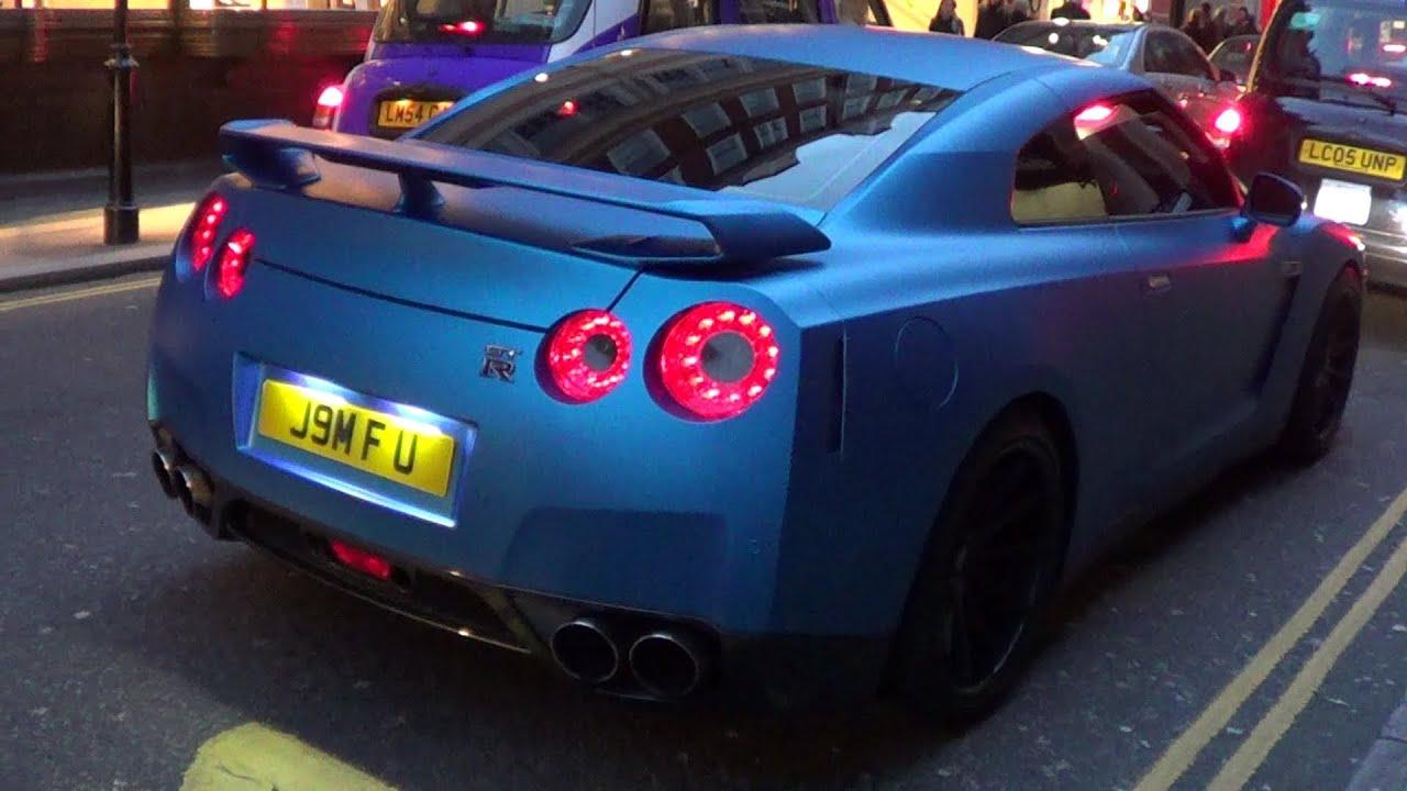 Flat Blue Auto Paint