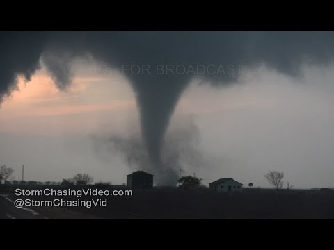 Stamford, TX Large Violent Tornadoes - 3/28/2017