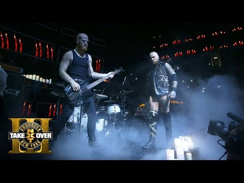 Code Orange and Incendiary play a headbanging rendition of Black's Entrance theme