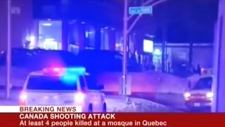 """Quebec Mosque Shooting Labeled """"Terrorist Attack"""""""