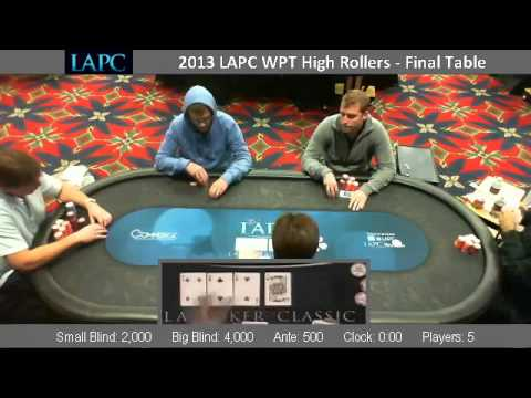 LAPC High Roller Final Table