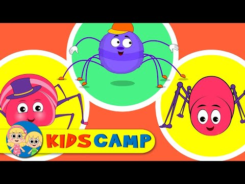Itsy Bitsy Spider | Incy Wincy Spider | Kids Songs & Nursery Rhymes | 60 Minutes Compilation video