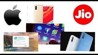 Tech updates # 2 - Facebook, Samsung galaxy A70, Internet explorer 11, Redmi Y3 and Apple