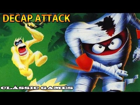 Clssic Games - Decap Attack + 1 Captulo completo