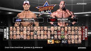 WWE 2K17 FULL ROSTER!! POST-DRAFT, WOMEN, NXT & LEGENDS (PS4/XB1 Concept!)