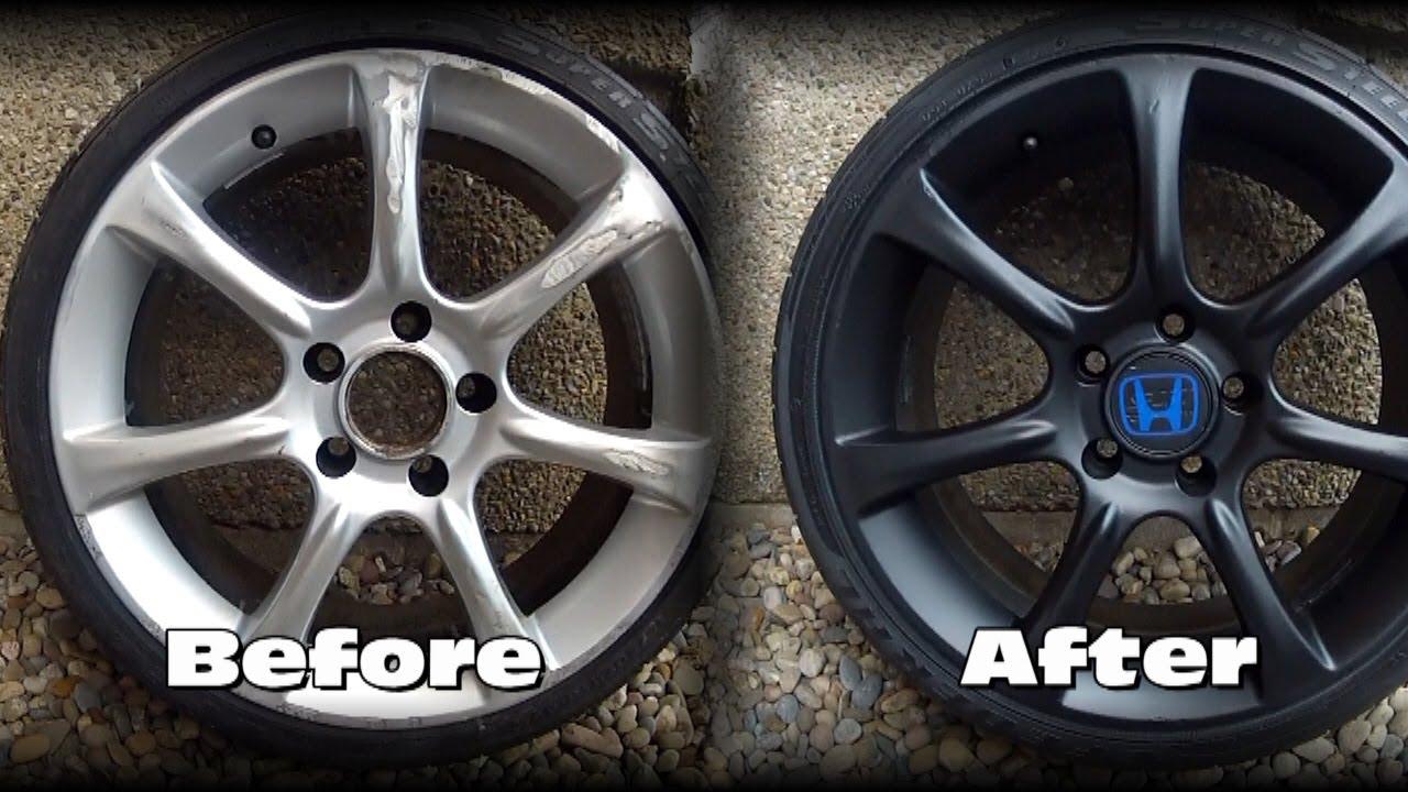 Dip Your Car Wheel Paint