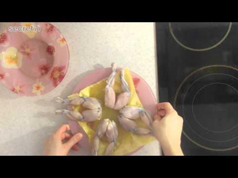 Как приготовить лягушачьи лапки - видео