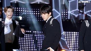 download lagu 140917 인천한류콘서트 - 엑소 Exo 백현 으르렁 Growl Dc gratis