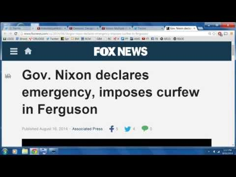 Missouri governor imposes curfew in Ferguson, declares emergency!