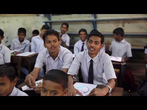 Slum kids confronting sexism in Mumbai
