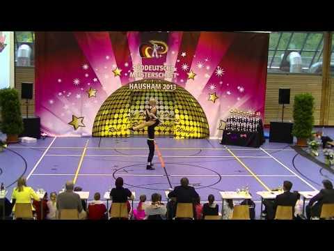Elisabeth Kleinstück & Rene Kleinstück - Süddeutsche Meisterschaft 2013