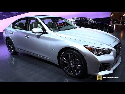 2016 Infiniti Q50 S 3.0t AWD Premium - Exterior and Interior Walkaround - 2016 Chicago Auto Show