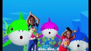 Baby Shark Song   Sing and Dance  Kids Song dance By Prince and Princess.