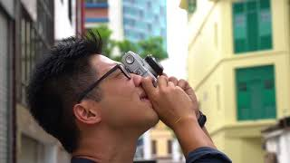 Zhi Jie tries out the Olympus Trip 35 | Test Roll
