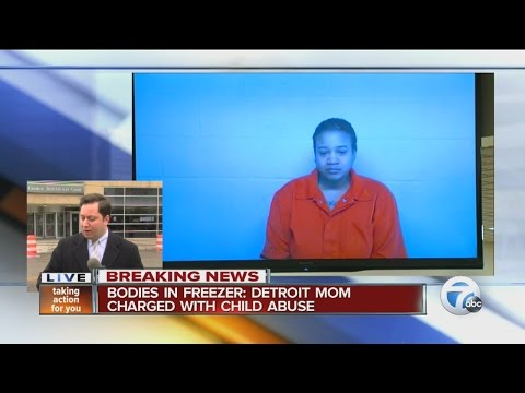 Mom charged with child abuse in freezer case