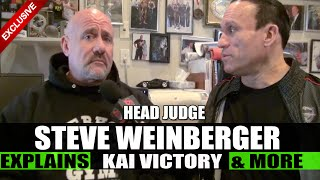 Kai vs Cedric: Head Judge Steve Weinberger Breaks it Down