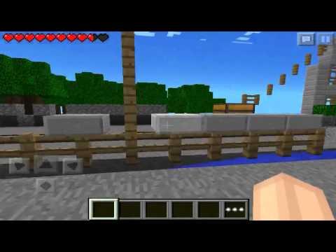 Minecraft PE: LOS JUEGOS DEL HAMBRE - Review De Mapa