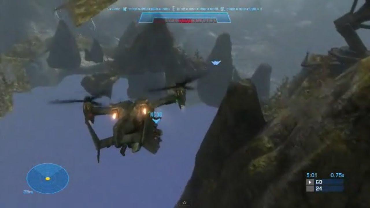 Halo Reach Falcon Wallpaper Halo Reach Out of Winter
