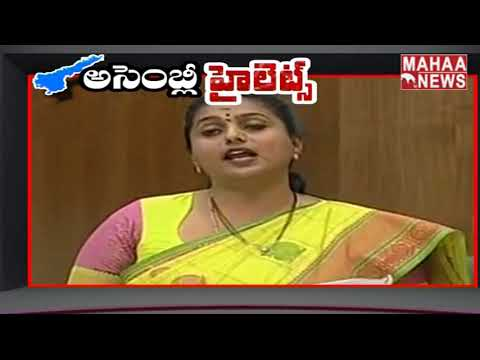 MLA Roja Power Full Comments On Chandrababu On Alcohol Consumption Act | MAHAA NEWS