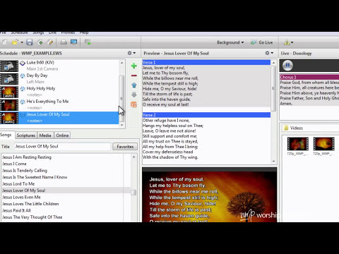 Custom Settings Per Background in EasyWorship