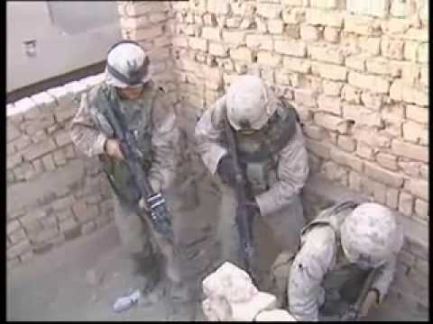 Footage/Language Warning: U.S. Marines Battle In Fallujah, Iraq