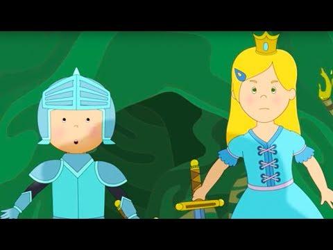 Caillou Türkçe HD - Şövalye Caillou ve Prenses   kayu cizgi filmi