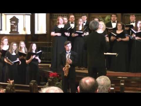 YSU Dana Chorale 'Praise His Holy Name' Sam Gregory Solo