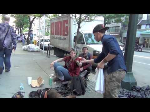 Make The Homeless Smile