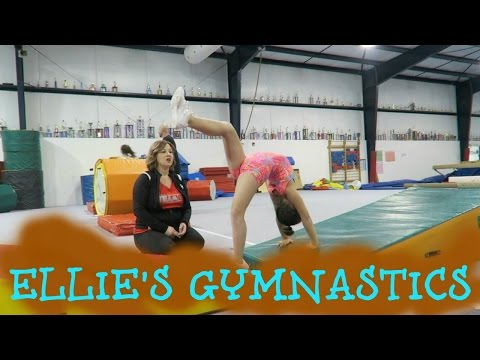 ELLIE'S GYMNASTICS!